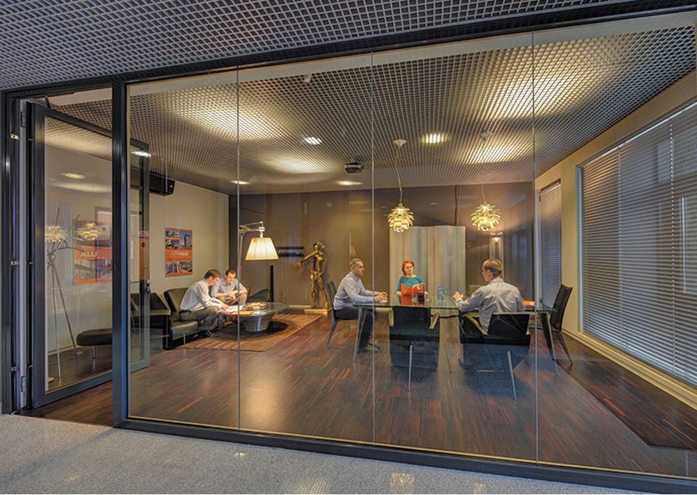 Fire Rated Glass partitions, doors and walls in Offices and Business Parks in the UK