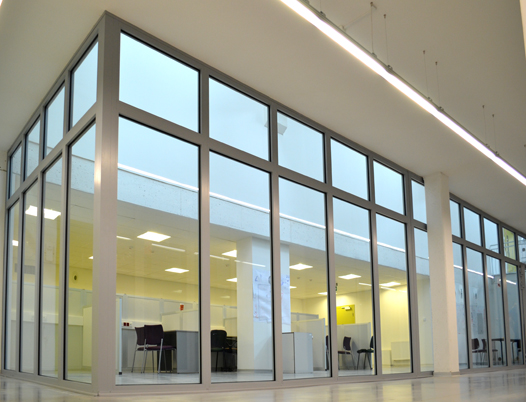 Fire rated glass partitions, doors and walls in schools, colleges and universities throughout the UK